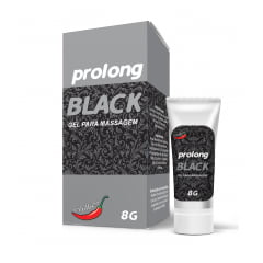 Gel Para Massagem Prolong Black 8g - C50